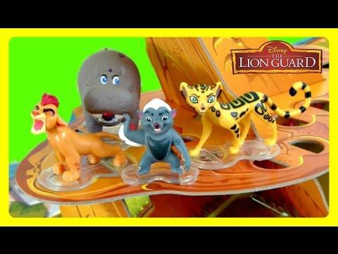 The Lion Guard Protect the Pridelands GAME!  Kion, Bunga, Ono, Beshte, & Fuli!  Disney Junior Fun Ga