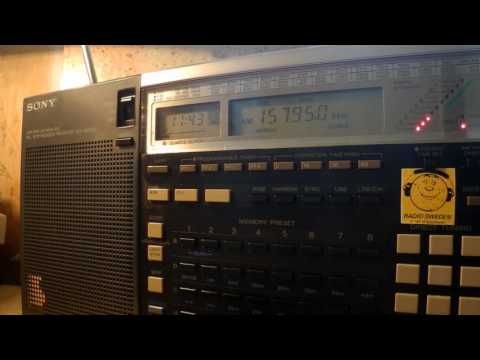 08 09 2016 World Wide Christian Radio WWCR 1 in Russian and English to WeEu 1143 on 15795 Nashville