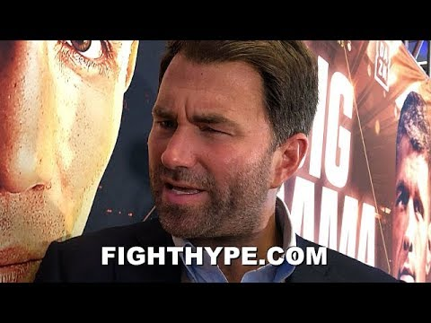 """EDDIE HEARN REACTS TO CANELO """"FRUSTRATION""""; WARNS GOLDEN BOY ABOUT KOVALEV LOSS & GOLOVKIN CONVO"""