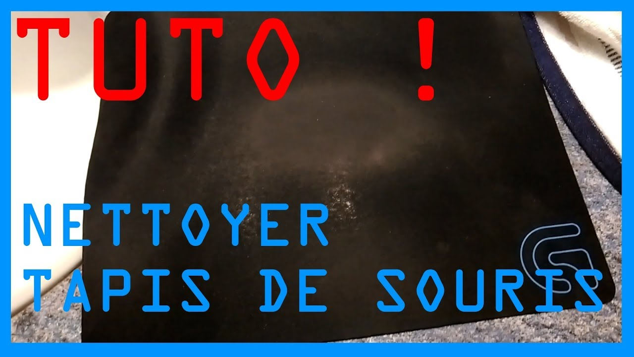 tuto nettoyer son tapis de souris youtube. Black Bedroom Furniture Sets. Home Design Ideas