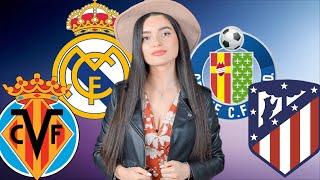 Реал Мадрид Вильярреал Хетафе Атлетико Ла Лига Примера Испания Футбол