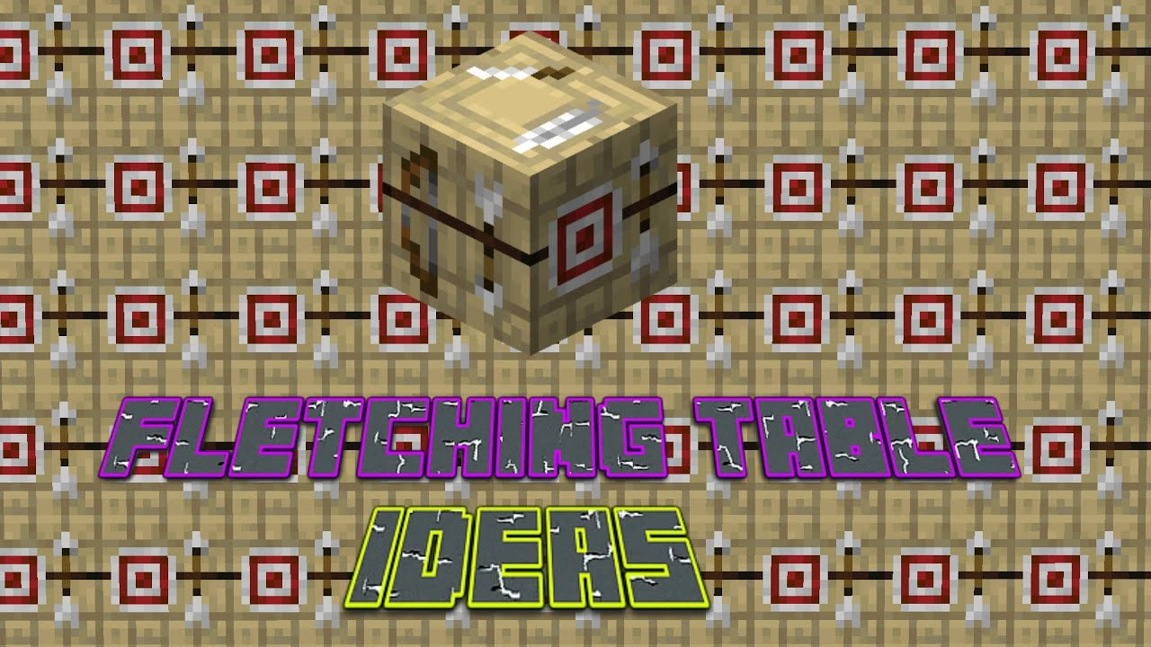 What should Mojang do with the Fletching Table? - YouTube