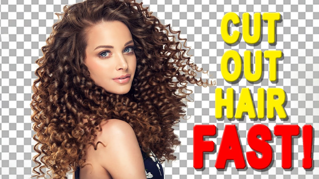 Cut Out Hair FAST! Photoshop Tutorial