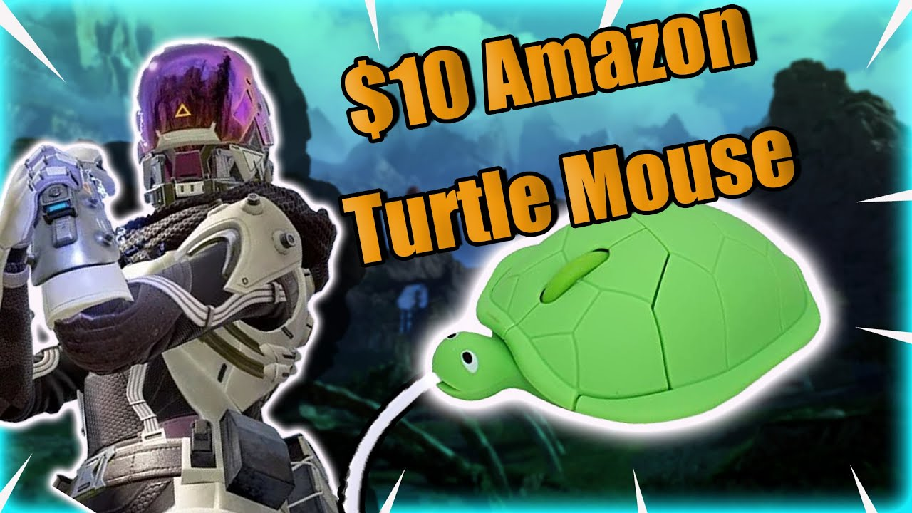 Playing Apex Legends But Using A Turtle Mouse | Season 10