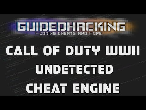COD WWII Undetected Cheat Engine