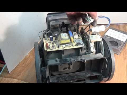 Как разобрать пылесос lg 1600w видео
