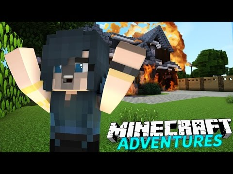 I BLEW UP MY HOUSE!   Minecraft Adventures - ItsFunneh (Minecraft Roleplay)