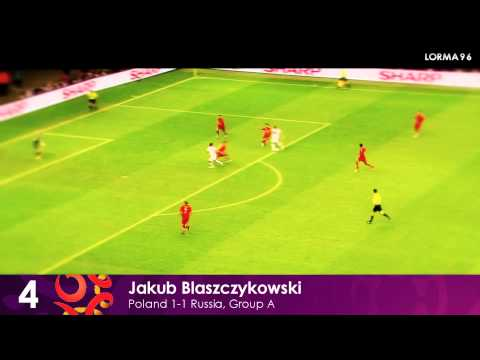 EURO 2012 Top 10 Goals  by lorma96