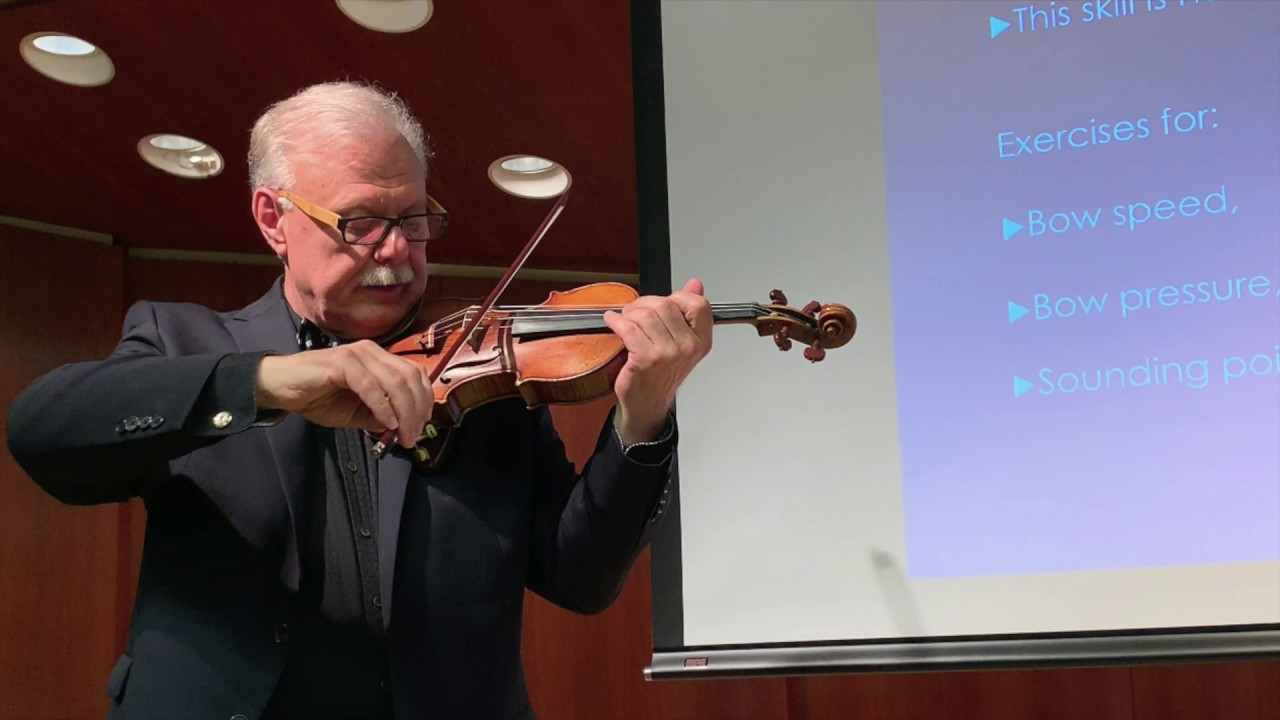 Kurt Sassmannshaus: Developing High-Level Violin Technique