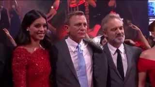 Spectre Mexico Premiere Highlights - Daniel Craig, Lea Seydoux, Monica Bellucci, Christoph Waltz
