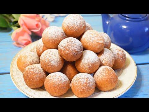 Творожные Пончики из