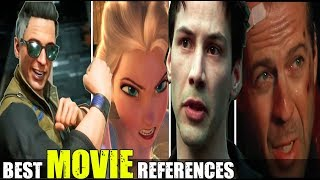 MK 11 - The Best Movie References ( Relationship Banter Intro Dialogues ) Mortal Kombat 11