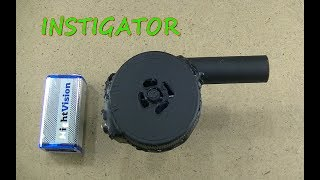 How to Make a Powerful Air Blower - Easy Way (MINI)