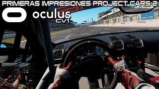 primeras Impresiones Project Cars con las VR DeePoon E2