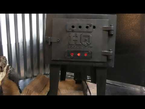 HQ Issue woodstove installed in our RV  motor coach  class A off grid Rv life