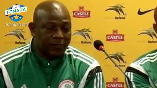 Tribute to Stephen Keshi