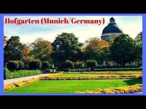 Hofgarten in Munich Germany SIGHTS OF MUNICH GERMANY