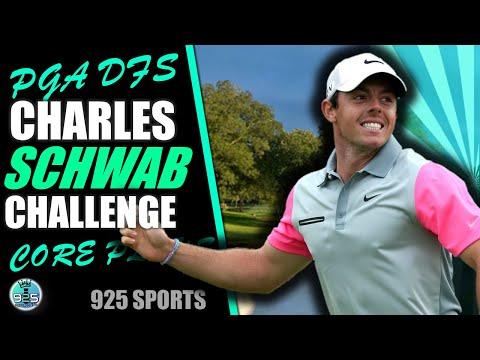 PGA DFS: Charles Schwab Challenge - 2020