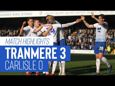 Match Highlights | Tranmere Rovers v Carlisle United - Sky Bet League Two