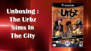 unboxing the urbz sims in the city sealed gamecube pt br