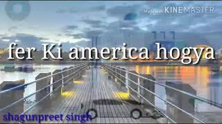 Latest whatsapp status video on pagg song by ammy virk