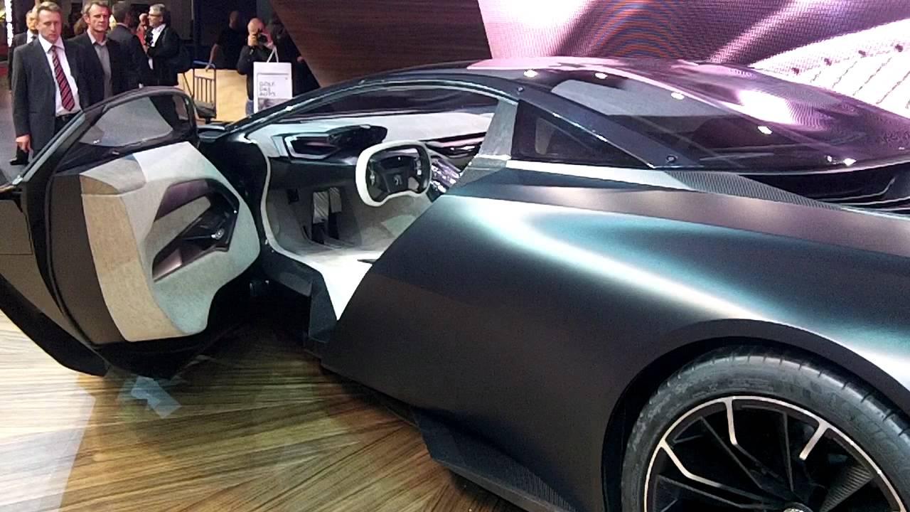 Peugeot Onyx Concept In Paris MotorShow 2012