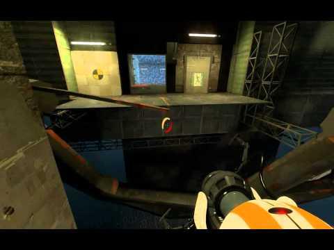 Portal 2 Co-Op Walkthrough - [ Course 5 - Level 8 ]
