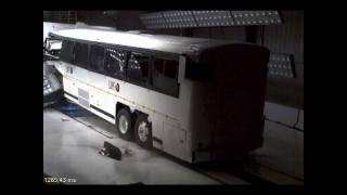 Insane Bus Crash Test (All-New Test)