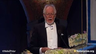Nobel Banquet speech by Jacques Dubochet, Nobel Prize in Chemistry 2017