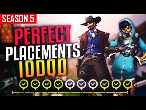 Perfect Placements (10-0) - IDDQD - Final Game [ SEASON 5 ]