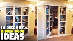12 Secret Door Ideas   Hidden Doors for your home or office   Murphy Door