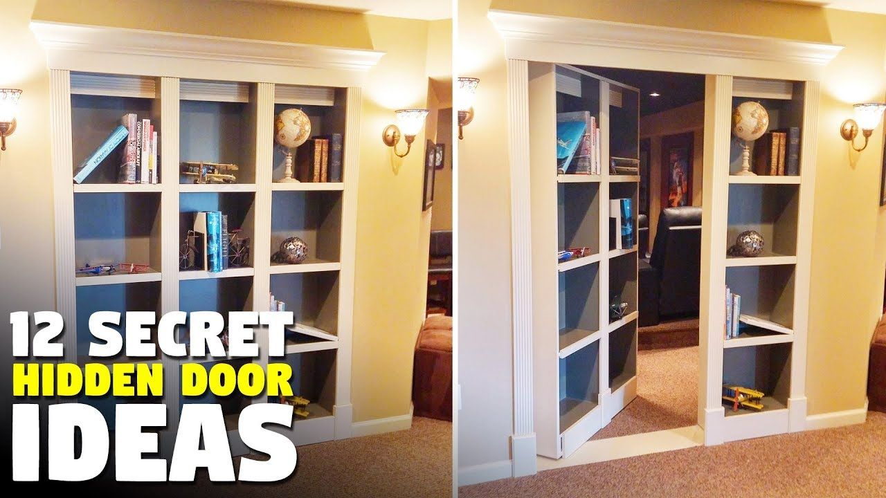 12 Secret Door Ideas | Hidden Doors For Your Home Or Office | Murphy Door