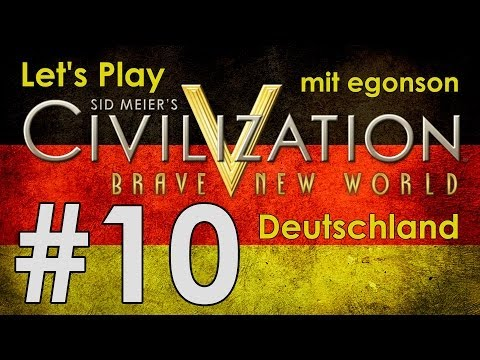 Let's Play Civilization V BNW Deutschland #10 - Deutsch-Nied