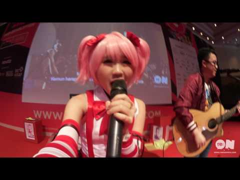 Reon Fanfare by re:ON Comics at Popcon Asia 2016 with Christian Bong & Franzeska Edelyn