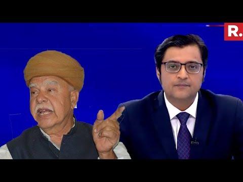 Karni Sena Chief Lokendra Singh Kalvi EXPOSED | The Debate With Arnab Goswami
