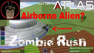 Roblox   Zombie Rush   Airborne Alien Badge   Farm Map