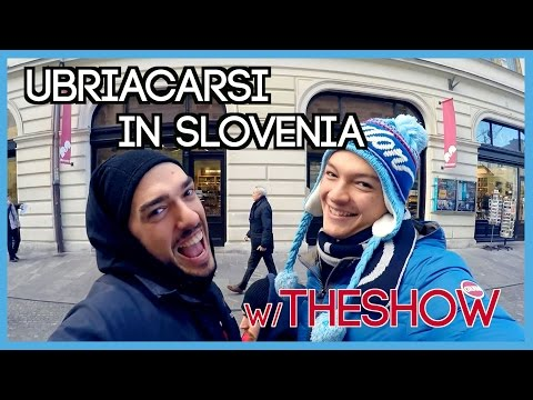 UBRIACARSI CON I THESHOW IN SLOVENIA?! - DAILY VLOG - Thenewmagicwizard