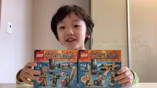레고 키마 장난감 악어부족&사자부족 개봉하기