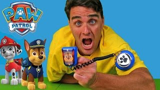 paw patrol mission command microphone    toy review    konas2002
