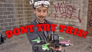 HAND LAUNCH a RACING DRONE