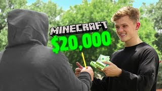 I raised $20,000 for charity with Minecraft