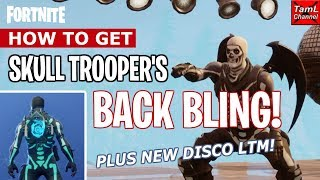 How to Get Skull Trooper's BACK BLING! Plus New Disco LTM! (Fortnite Battle Royale)