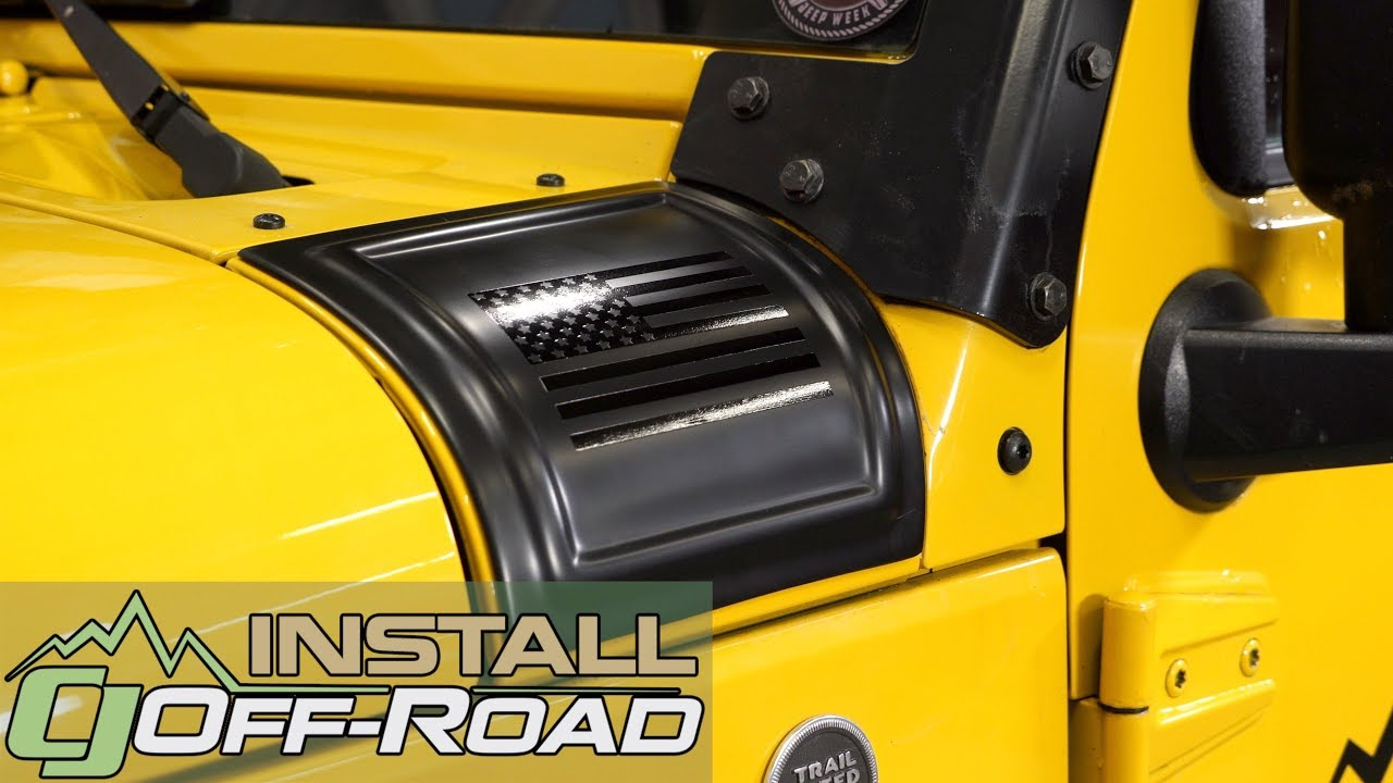Rampage Stops Cowl Damage After A Usa Flag Cover Install For Jeep Wrangler Construction Your 2007 2018 Jk