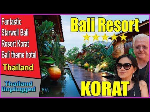 EXCELLENT! VALUE FOR MONEY HOTEL  KORAT THAILAND , STARWELL BALI RESORT