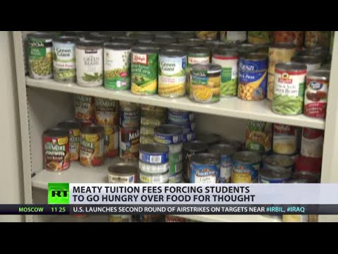 Food for Thought: US students struggle with hunger as tuition skyrockets