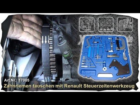 Фото к видео: Zanhriemen tauschen an einem Renault Twingo mit D7F Motor