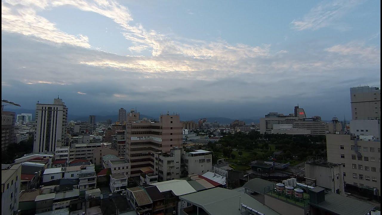 臺中市的天氣影像縮時_379 (2016年9月13日) - YouTube