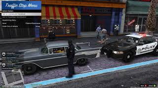 GTA 5 MOD - MONDAY CITY PATROL - NO COMMENTARY (GTA 5 REAL LIFE POLICE PC MOD) 4K