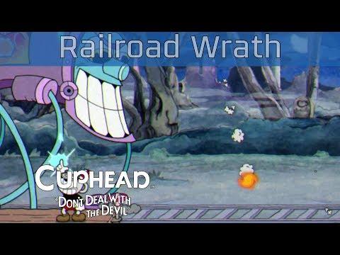 "Cuphead - Phantom Express in ""Railroad Wrath"" Walkthrough [HD 1080P/60FPS]"