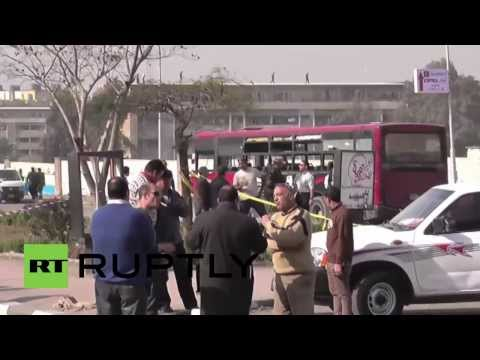 Egypt: Bomb blast injures at least 5 in Cairo